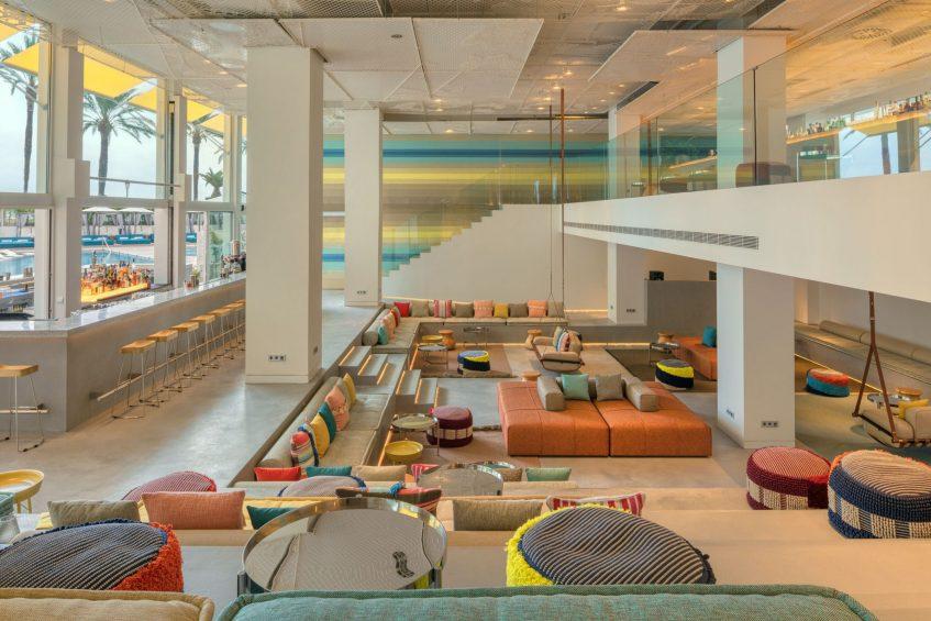 W Ibiza Luxury Hotel - Santa Eulalia del Rio, Spain - W Lounge Sitting Area