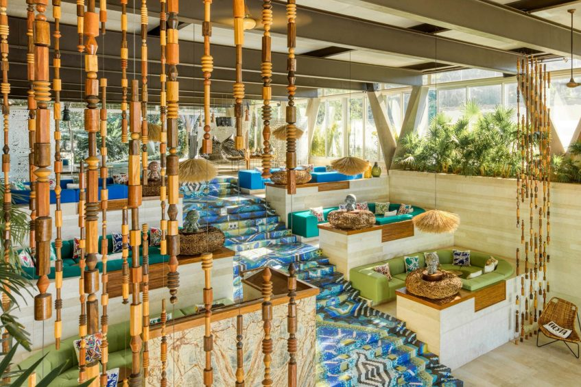 W Punta de Mita Luxury Resort - Punta De Mita, Mexico - Living Room Decor