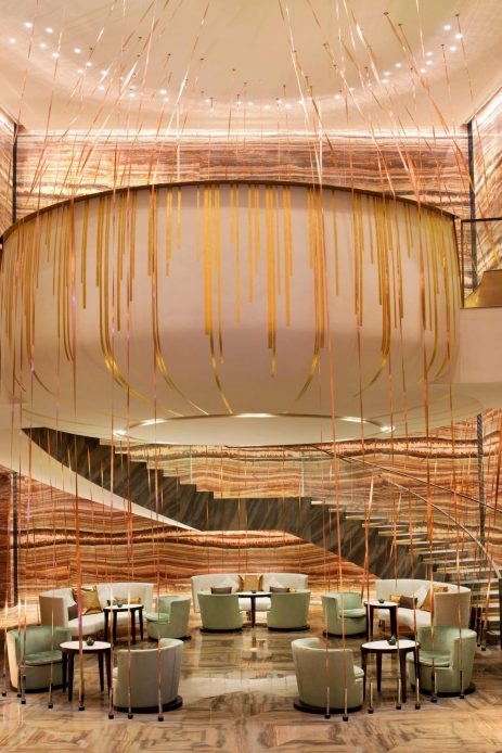 W Guangzhou Luxury Hotel - Tianhe District, Guangzhou, China - WooBar Nested Area