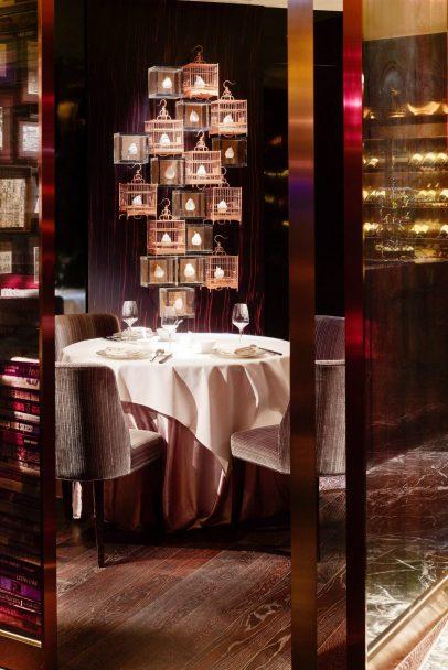 W Hong Kong Luxury Hotel - Hong Kong - Sing Yin Cantonese Dining Seating
