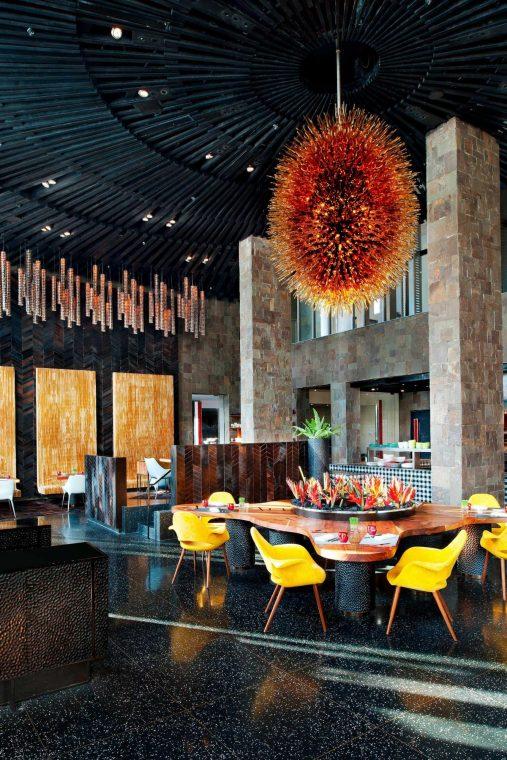 W Bali Seminyak Luxury Resort - Seminyak, Indonesia - Fire Restaurant