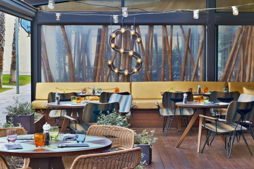 W Barcelona Luxury Hotel - Barcelona, Spain - Salt Restaurant Outdoors