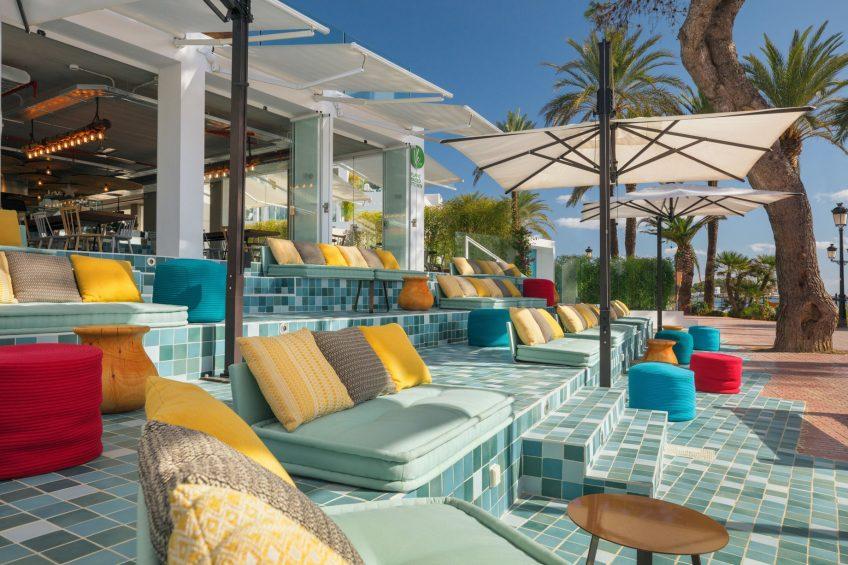 W Ibiza Luxury Hotel - Santa Eulalia del Rio, Spain - Ve Cafe