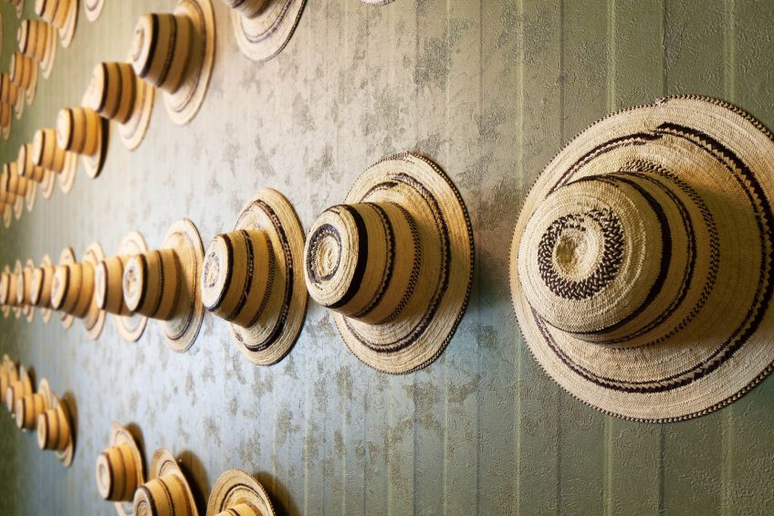 W Panama Luxury Hotel - Panama City, Panama - Panama Hat Decor