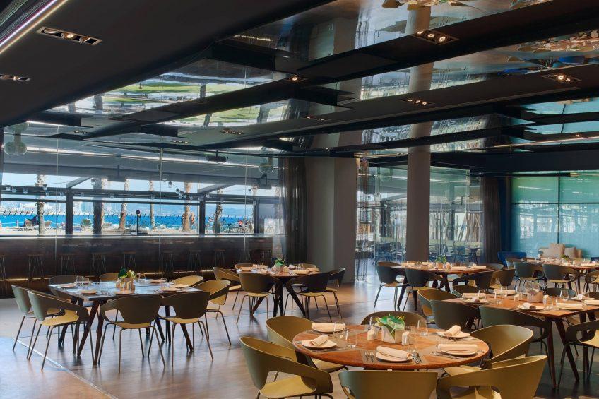 W Barcelona Luxury Hotel - Barcelona, Spain - Salt Restaurant Banquet