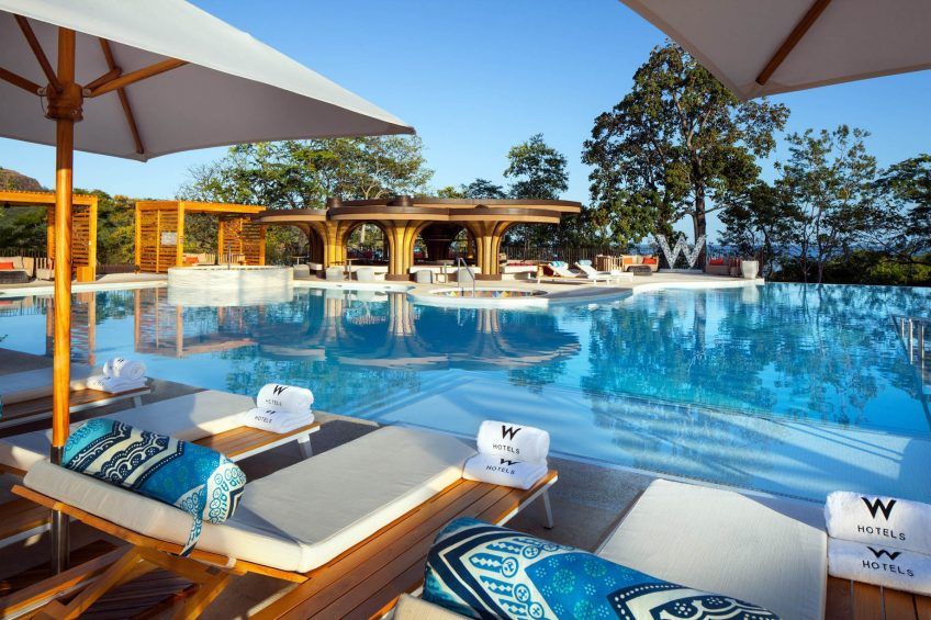 W Costa Rica Reserva Conchal Luxury Resort - Costa Rica - WET Pool Deck