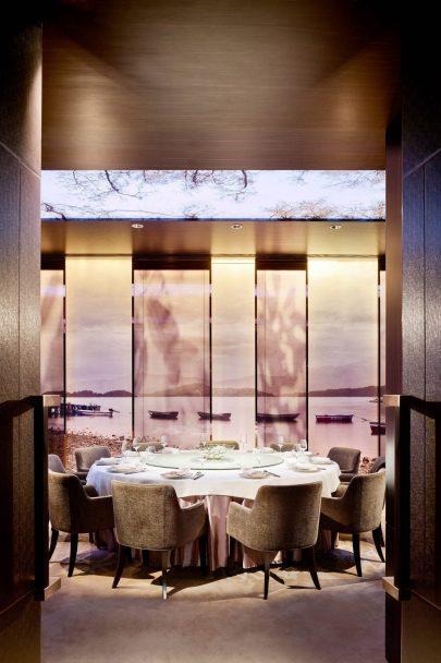 W Hong Kong Luxury Hotel - Hong Kong - Sing Yin Cantonese Dining Table