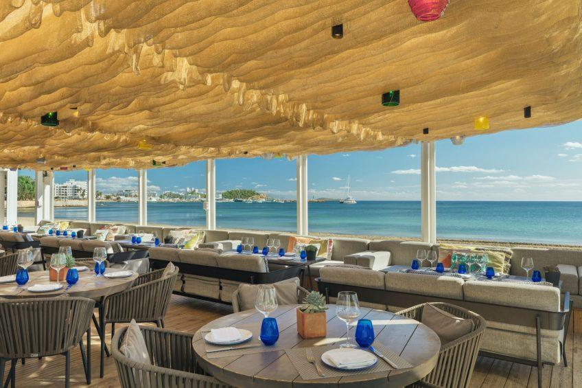 W Ibiza Luxury Hotel - Santa Eulalia del Rio, Spain - Chiringuito Blue