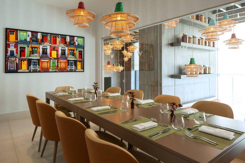 W Panama Luxury Hotel - Panama City, Panama - Private Dining Room