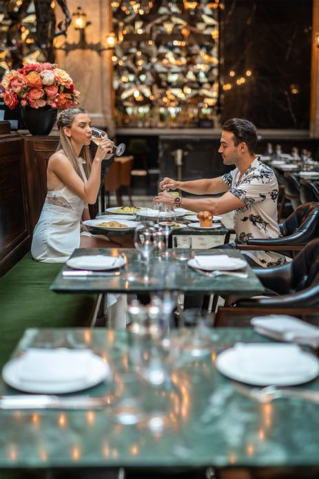 W Amsterdam Luxury Hotel - Amsterdam, Netherlands - W Lounge Dining