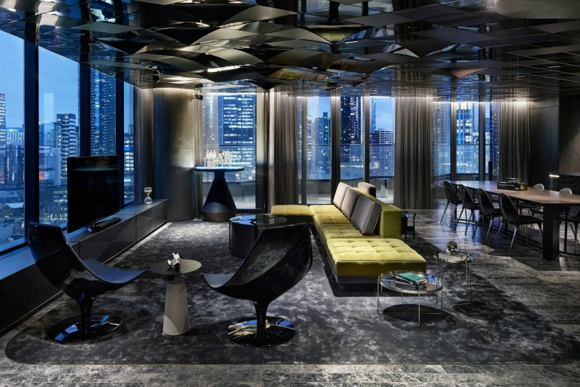 W Melbourne Luxury Hotel - Melbourne, Australia - Extreme Wow Suite View