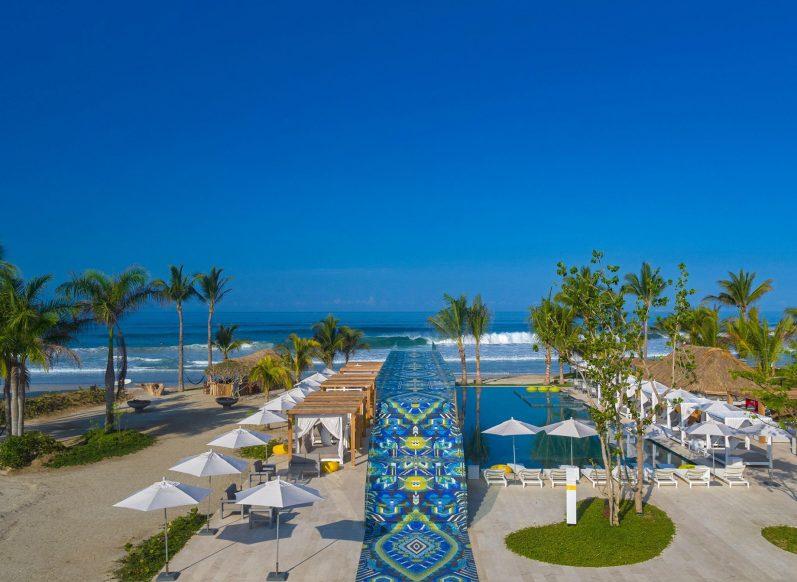 W Punta de Mita Luxury Resort - Punta De Mita, Mexico - The Huichol Sunway Beachfront Pool