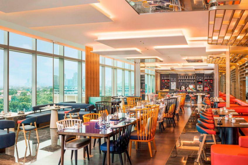 W Suzhou Luxury Hotel - Suzhou, China - The Kitchen Table Decor