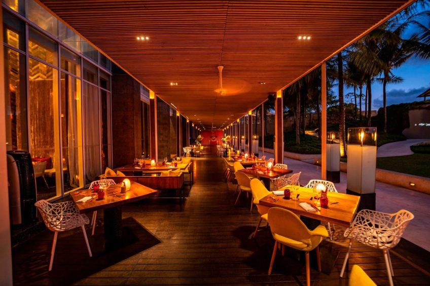W Bali Seminyak Luxury Resort - Seminyak, Indonesia - FIRE Restaurant Night