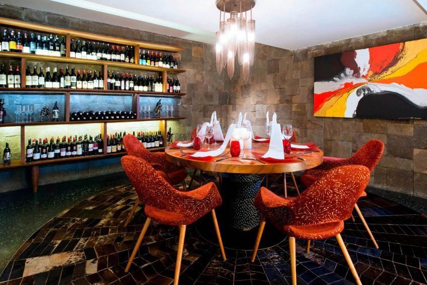 W Bali Seminyak Luxury Resort - Seminyak, Indonesia - Fire Restaurant Cellar