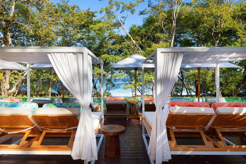 W Costa Rica Reserva Conchal Luxury Resort - Costa Rica - Zona Azul Beach Club Cabanas