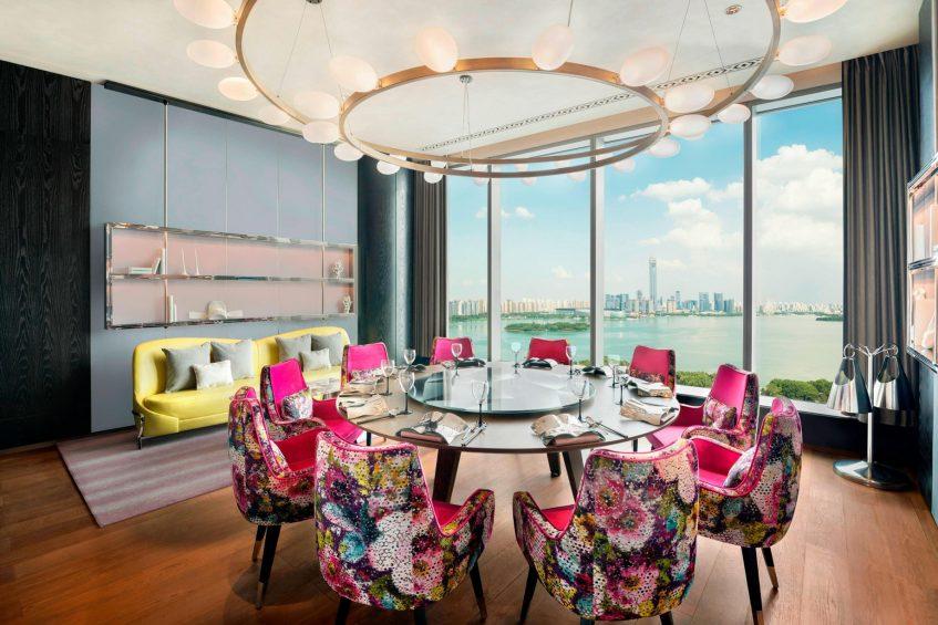 W Suzhou Luxury Hotel - Suzhou, China - Su Yan Chinese Restaurant Private Dining