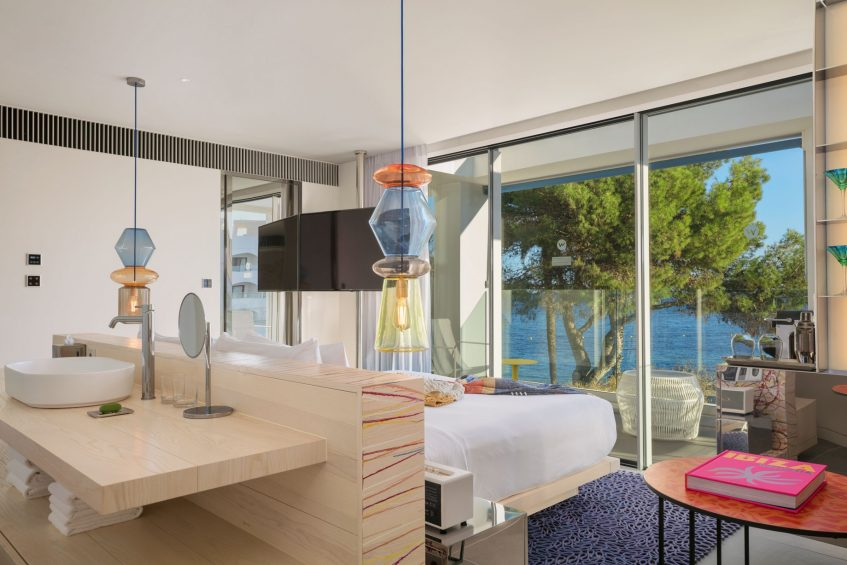 W Ibiza Luxury Hotel - Santa Eulalia del Rio, Spain - Cool Corner