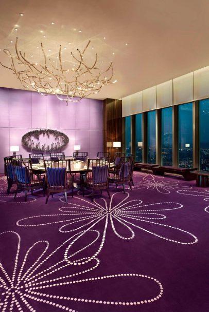 W Taipei Luxury Hotel - Taipei, Taiwan - YEN Chinese Restaurant Private Dining Breeze ll Room