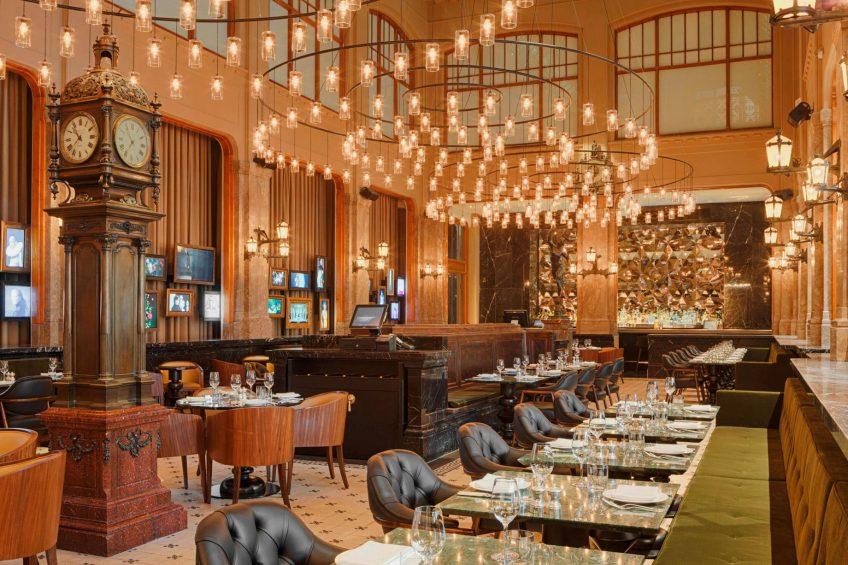 W Amsterdam Luxury Hotel - Amsterdam, Netherlands - The Duchess Seating