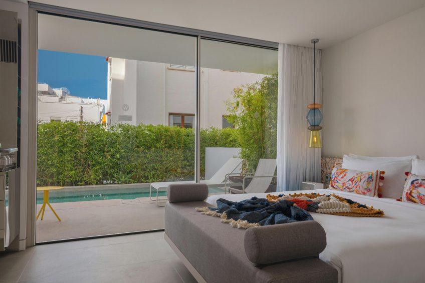 W Ibiza Luxury Hotel - Santa Eulalia del Rio, Spain - Cozy King Guest Room with Pool