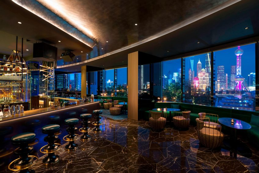 W Shanghai The Bund Luxury Hotel - Shanghai, China - Yen Restaurant Liquid