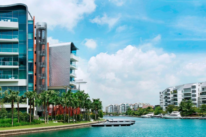W Singapore Sentosa Cove Luxury Hotel - Singapore - Berthing Stations
