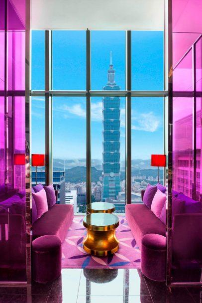 W Taipei Luxury Hotel - Taipei, Taiwan - YEN Bar Taipei 101 View