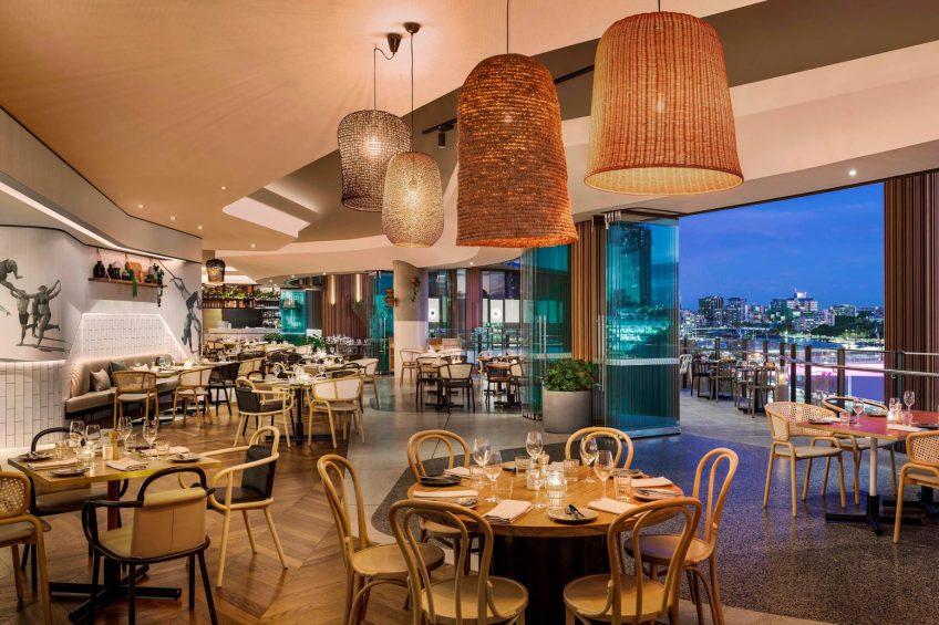 W Brisbane Luxury Hotel - Brisbane, Australia - Three Blue Ducks Restaurant