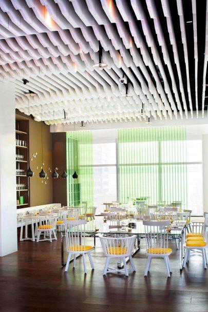 W Taipei Luxury Hotel - Taipei, Taiwan - The Kitchen Table Seating