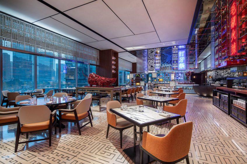 W Chengdu Luxury Hotel - Chengdu, China - ZING Restaurant Decor