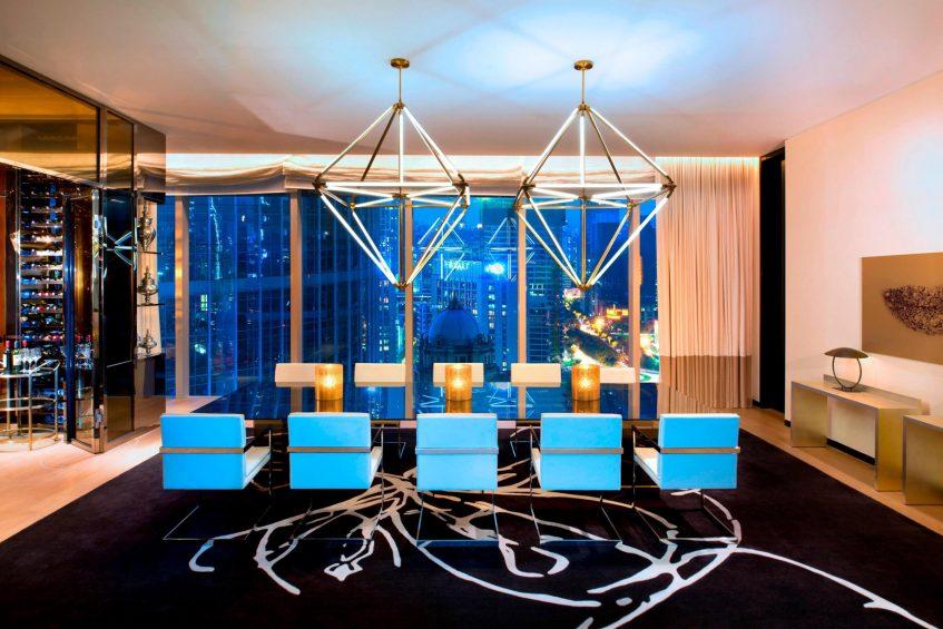W Guangzhou Luxury Hotel - Tianhe District, Guangzhou, China - Extreme WOW Suite Room View