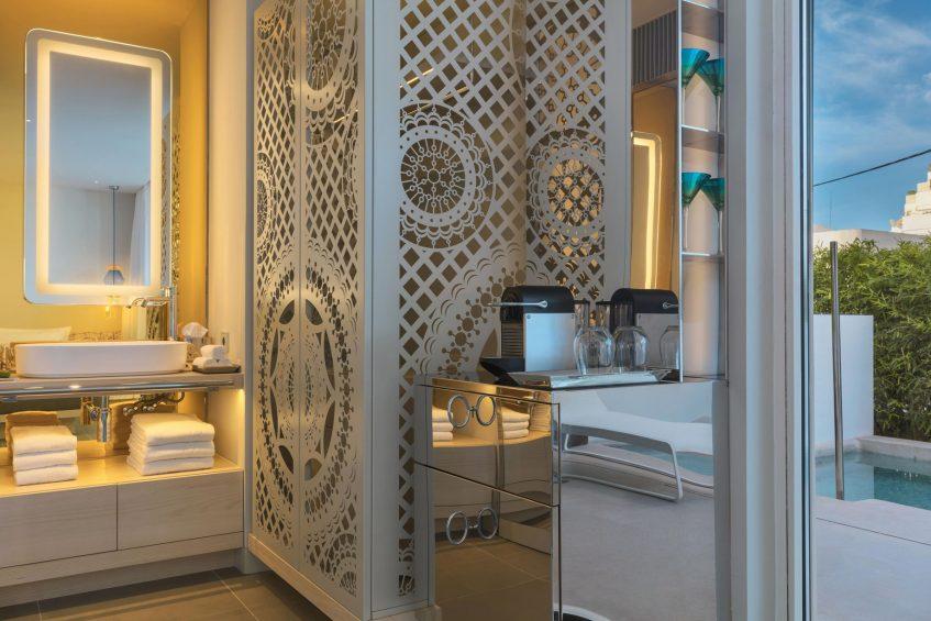 W Ibiza Luxury Hotel - Santa Eulalia del Rio, Spain - Cozy King Private Plunge Pool View