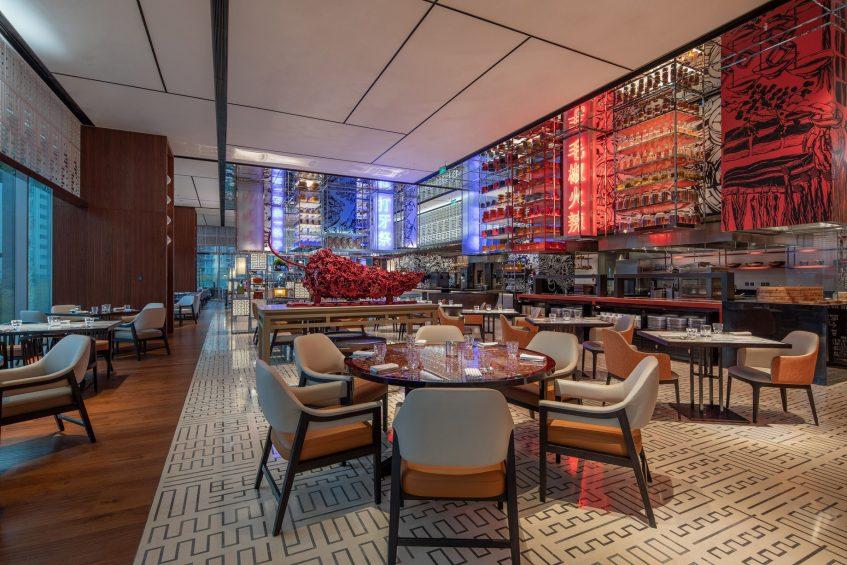 W Chengdu Luxury Hotel - Chengdu, China - ZING Table Settings