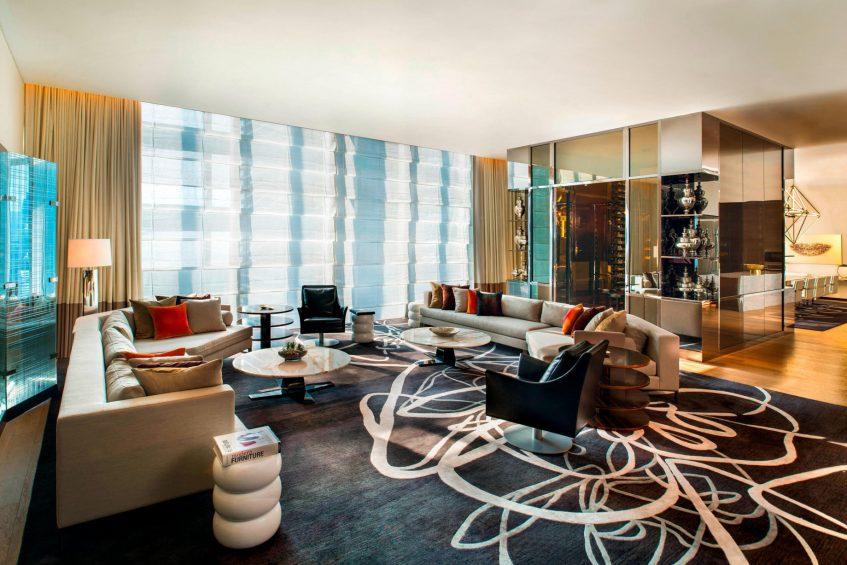 W Guangzhou Luxury Hotel - Tianhe District, Guangzhou, China - Extreme WOW Suite Room