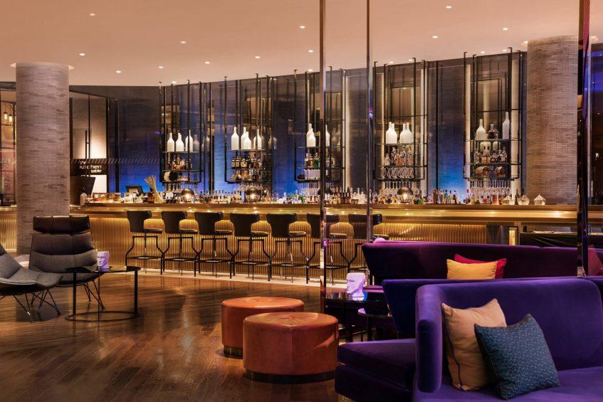 W Shanghai The Bund Luxury Hotel - Shanghai, China - WOOBar Interior