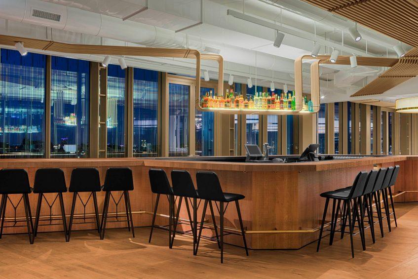 W Amsterdam Luxury Hotel - Amsterdam, Netherlands - Mr Porter Bar