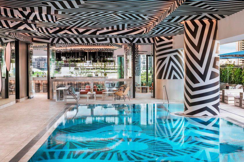 W Brisbane Luxury Hotel - Brisbane, Australia - WET Deck Pool