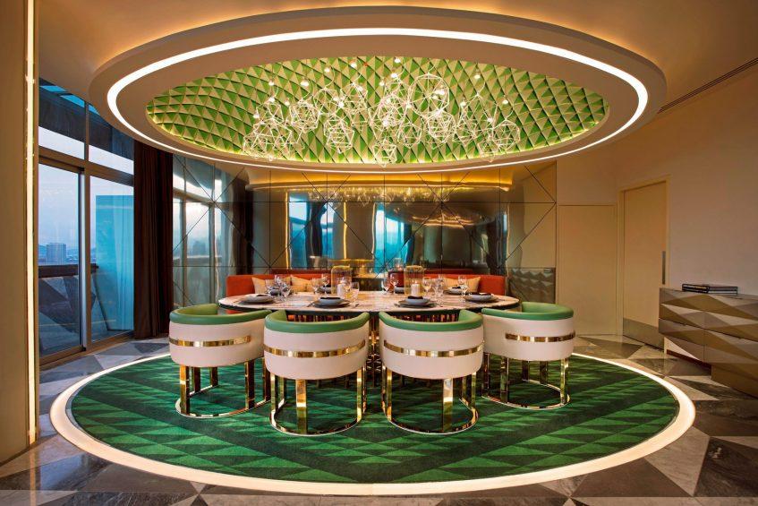 W Mexico City Luxury Hotel - Polanco, Mexico City, Mexico - E WOW Suite Dining Room