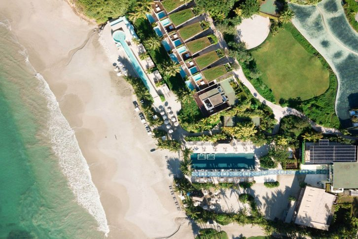 W Punta de Mita Luxury Resort - Punta De Mita, Mexico - Resort Aerial Beach View