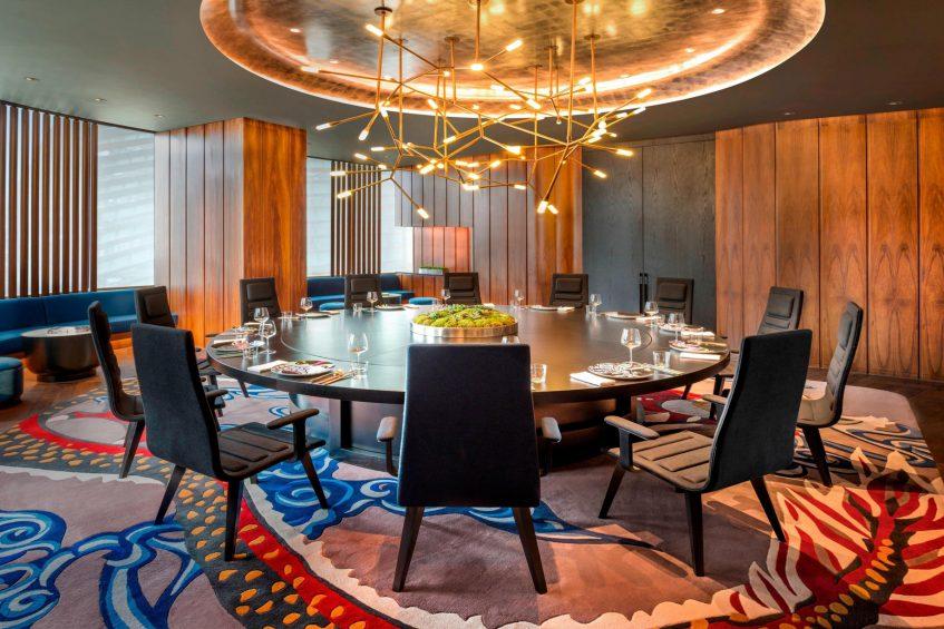 W Shanghai The Bund Luxury Hotel - Shanghai, China - YEN Chinese Restaurant Private Dining Room