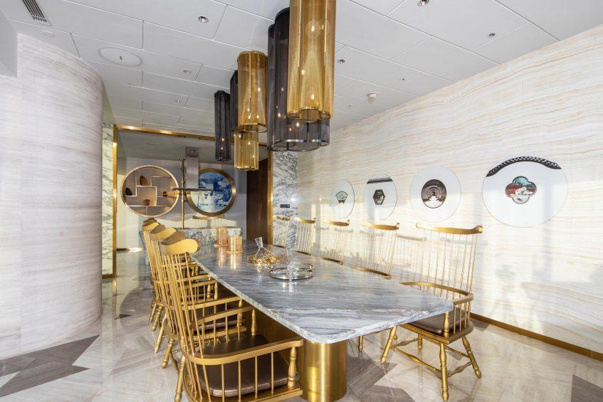 W Suzhou Luxury Hotel - Suzhou, China - Extreme WOW Suite Dining Room