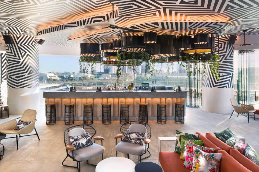 W Brisbane Luxury Hotel - Brisbane, Australia - WET Deck