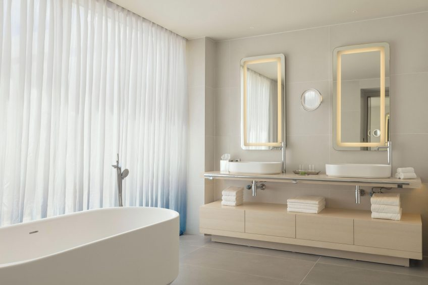 W Ibiza Luxury Hotel - Santa Eulalia del Rio, Spain - E WOW Suite Bathroom
