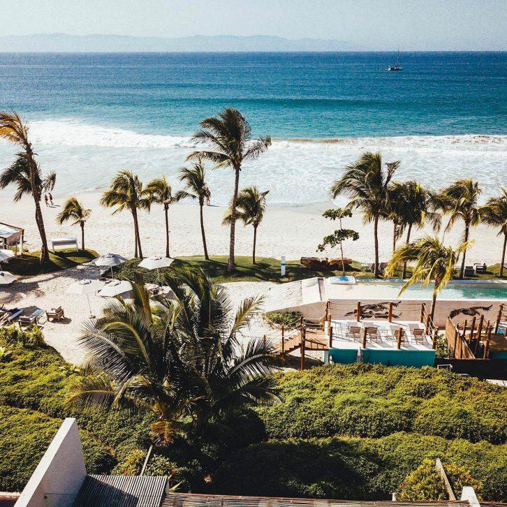 W Punta de Mita Luxury Resort - Punta De Mita, Mexico - Resort Beach View