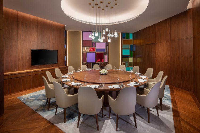 W Chengdu Luxury Hotel - Chengdu, China - YAO YEN Private Dining Table
