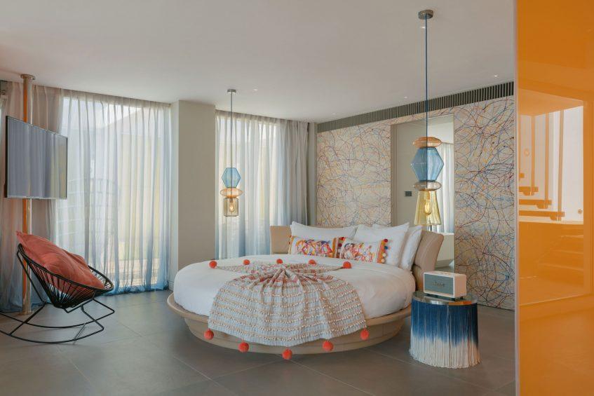 W Ibiza Luxury Hotel - Santa Eulalia del Rio, Spain - E WOW Bedroom