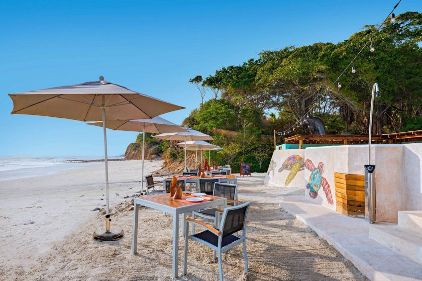 W Punta de Mita Luxury Resort - Punta De Mita, Mexico - Salero Beach Restaurant