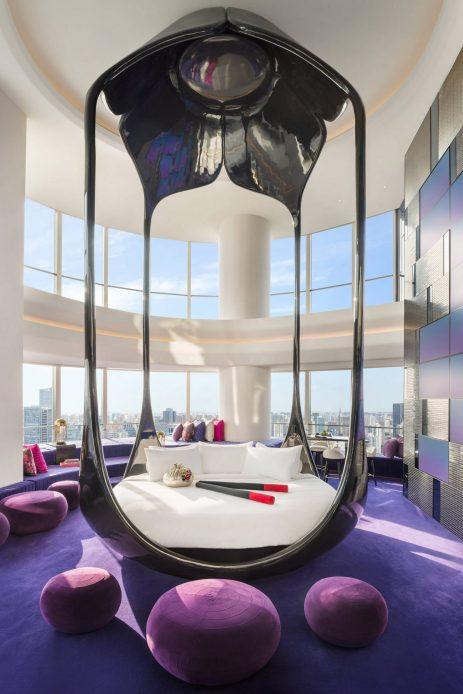 W Shanghai The Bund Luxury Hotel - Shanghai, China - Cloud on the Bund Guest Room