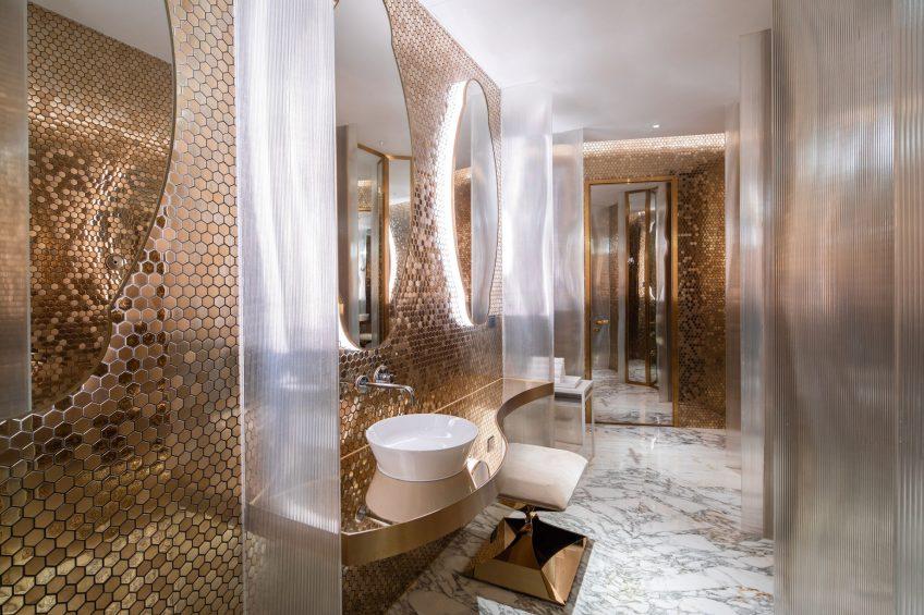 W Suzhou Luxury Hotel - Suzhou, China - Extreme WOW Suite Bathroom Vanity